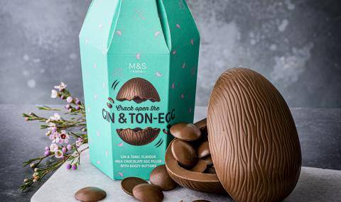 M&S Gin&Ton-Egg (UK) - Adult flavored eggs
