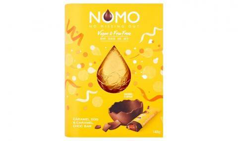Nomo (UK) - Caramel & chocolate egg