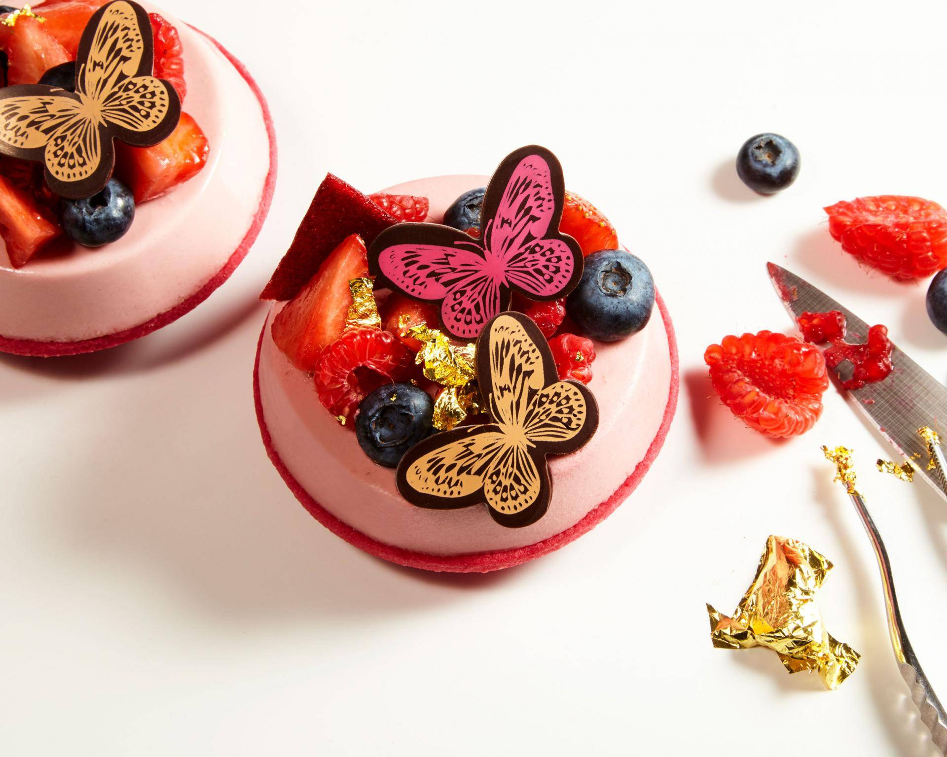Butterfly Spring Cake
