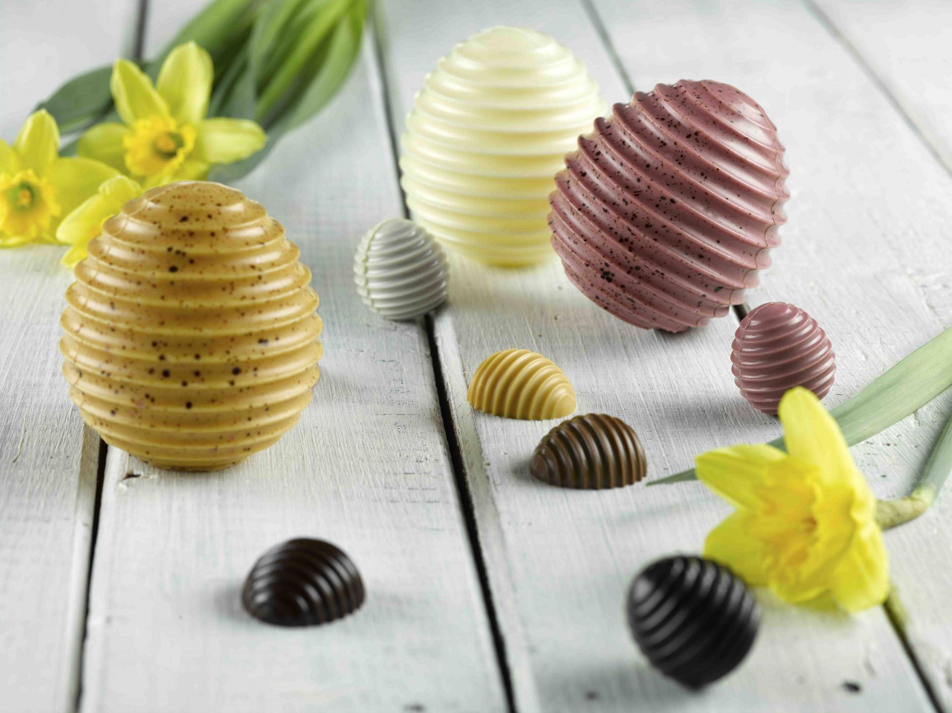 Carma chocolate easter eggs