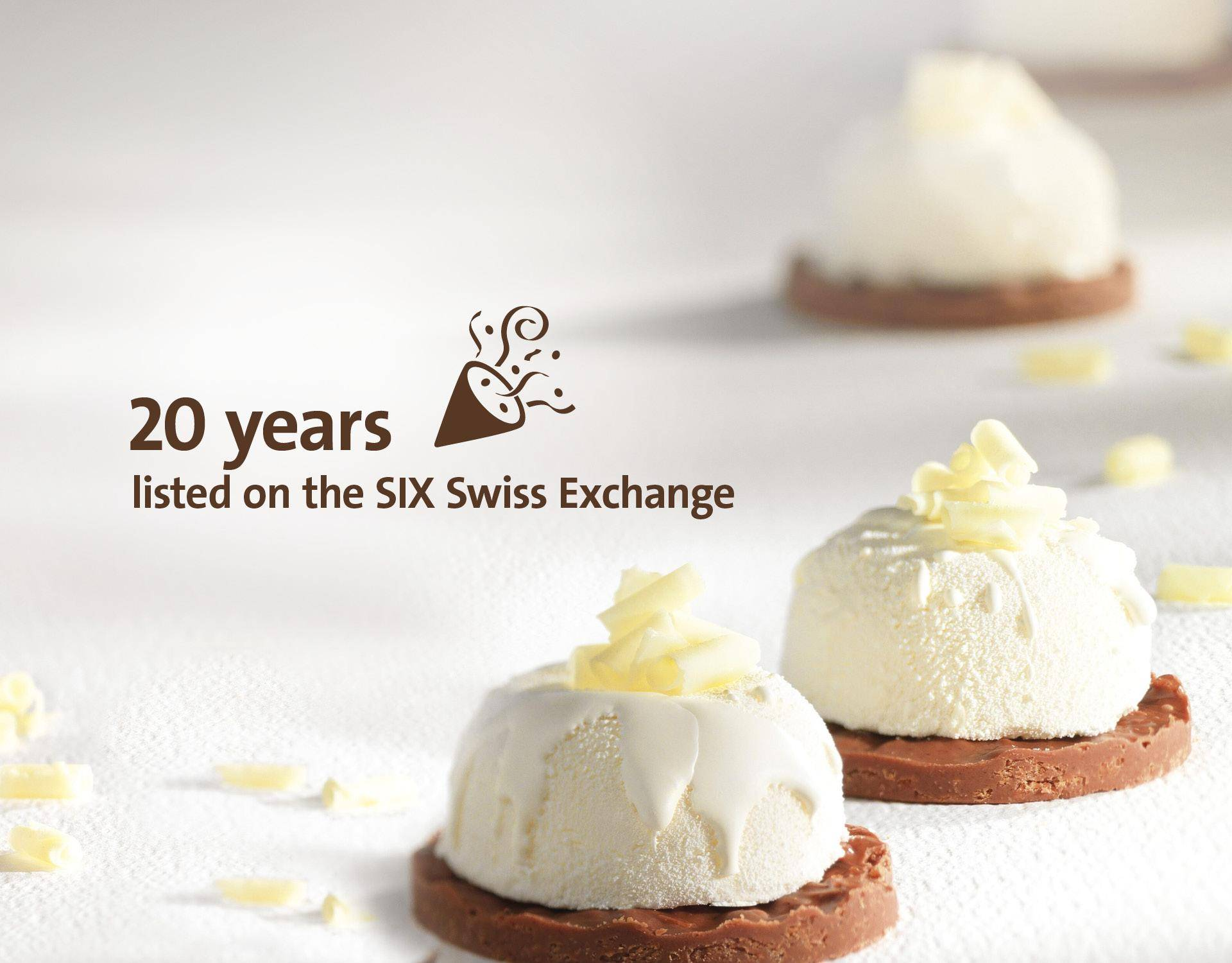 Image Slider 20 years SIX Swiss Exchange Fiscal Year 2017/18 Barry Callebaut Group