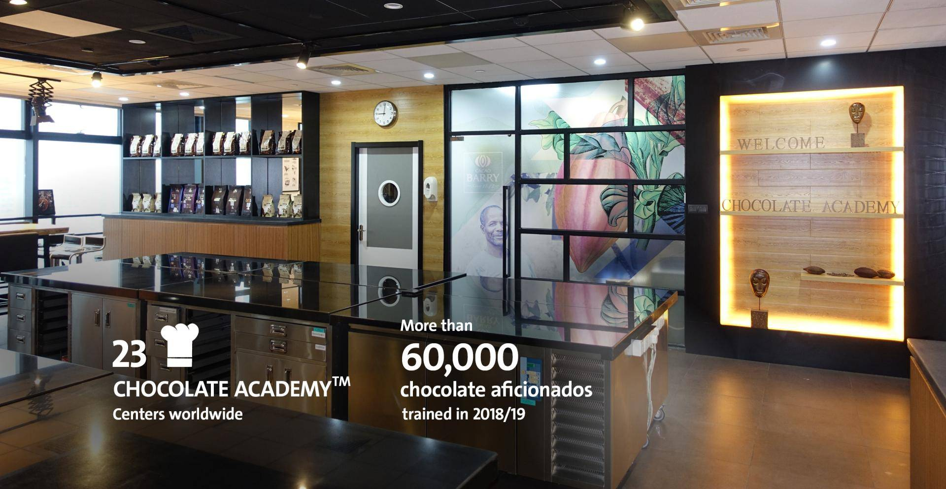 Image Slider Chocolate Academy Fiscal Year 2018/19 Barry Callebaut