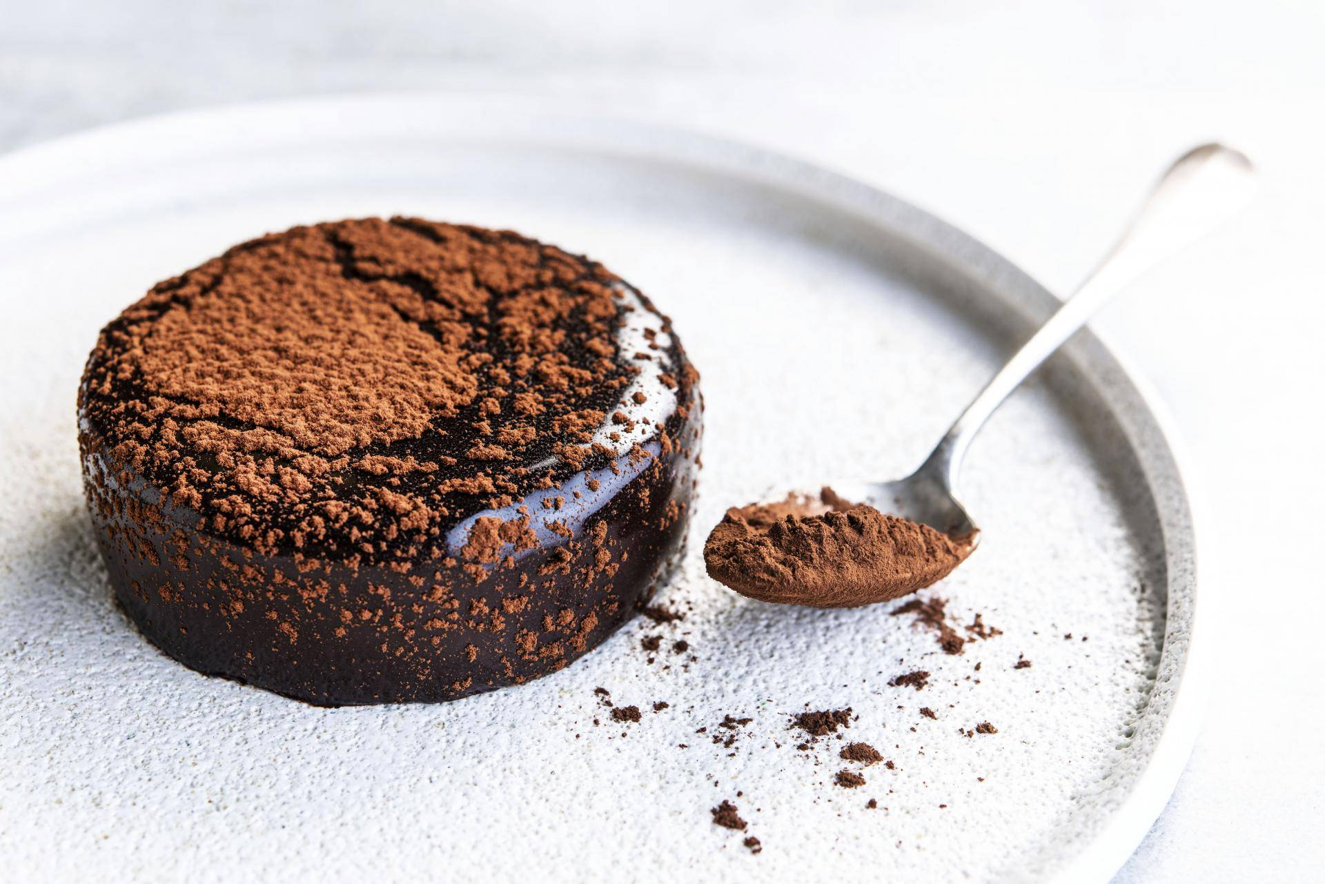 Lenotre made with Organic Dark Chocolate powder and Dusting cocoa powder