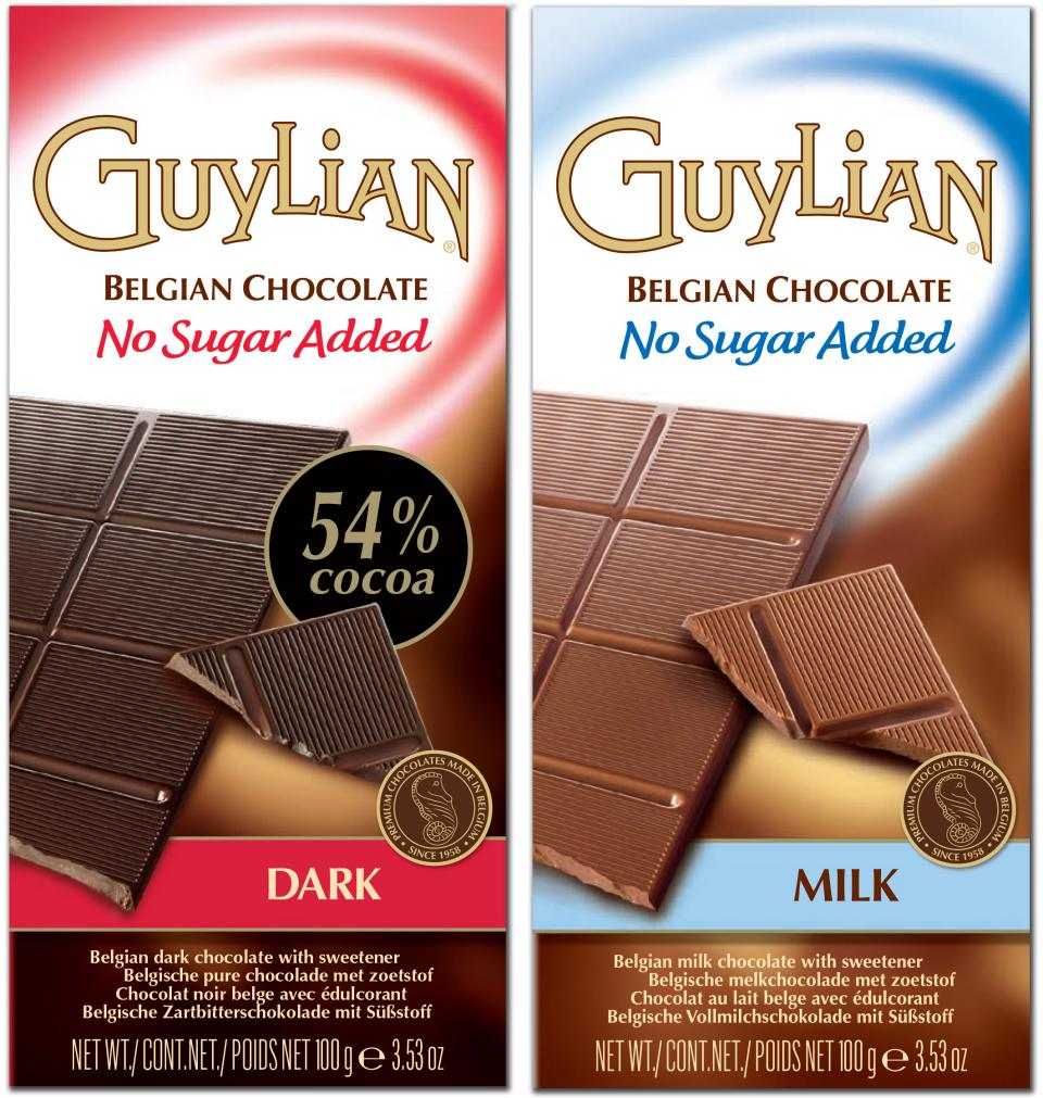 guylian chocolate no added sugar