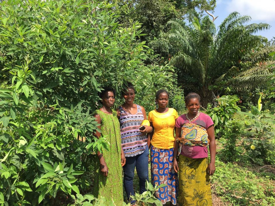 Women farmers in Africa
