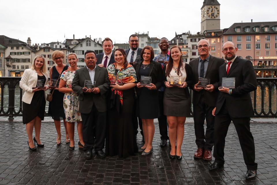 Barry Callebaut Chairman's Award Group Picture
