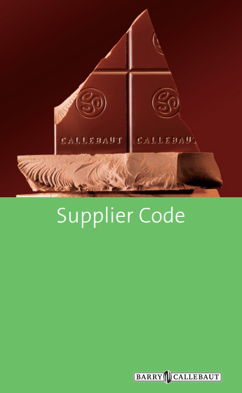 Barry Callebaut Supplier Code
