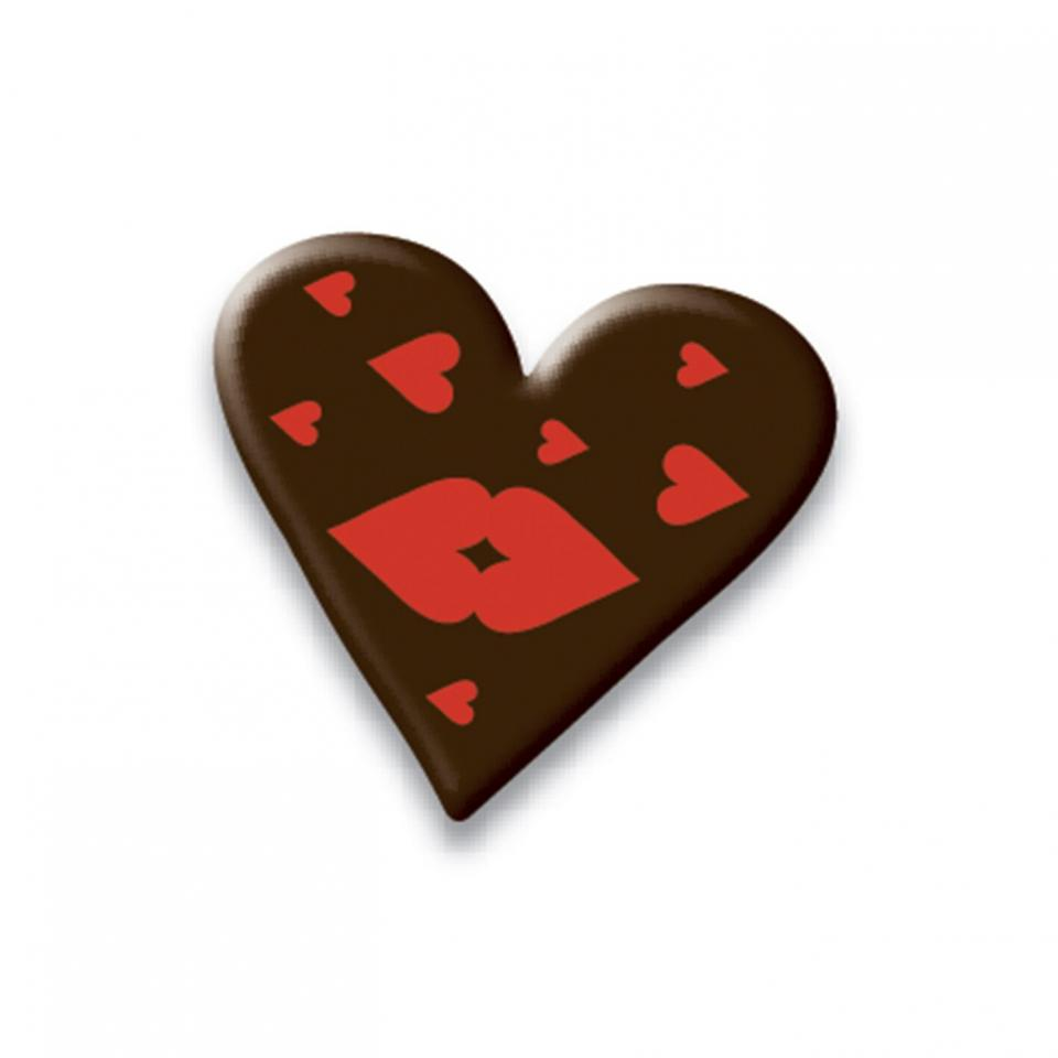 Barry Callebaut chocolate heart