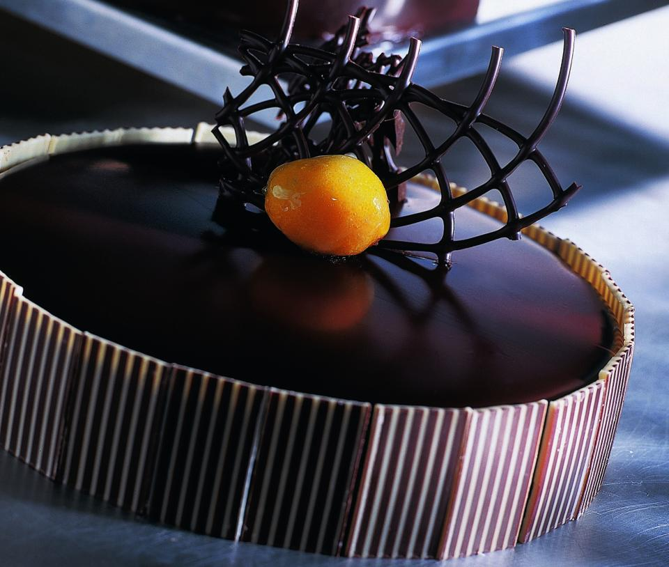Barry Callebaut chocolate pie
