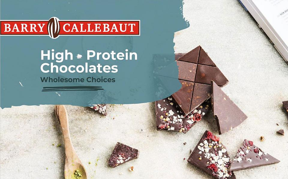 High Protein Chocolates brochure cover