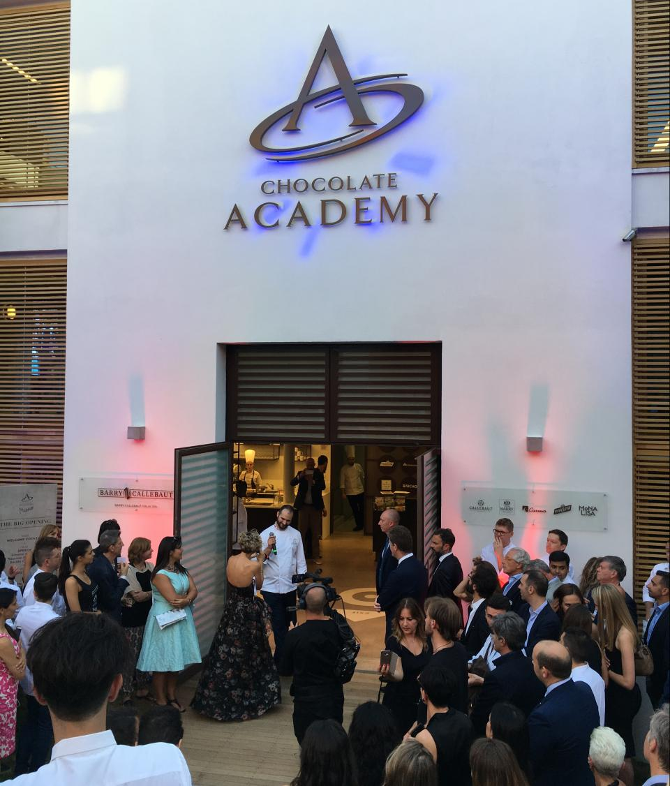 Chocolate Academy center Milan inauguration