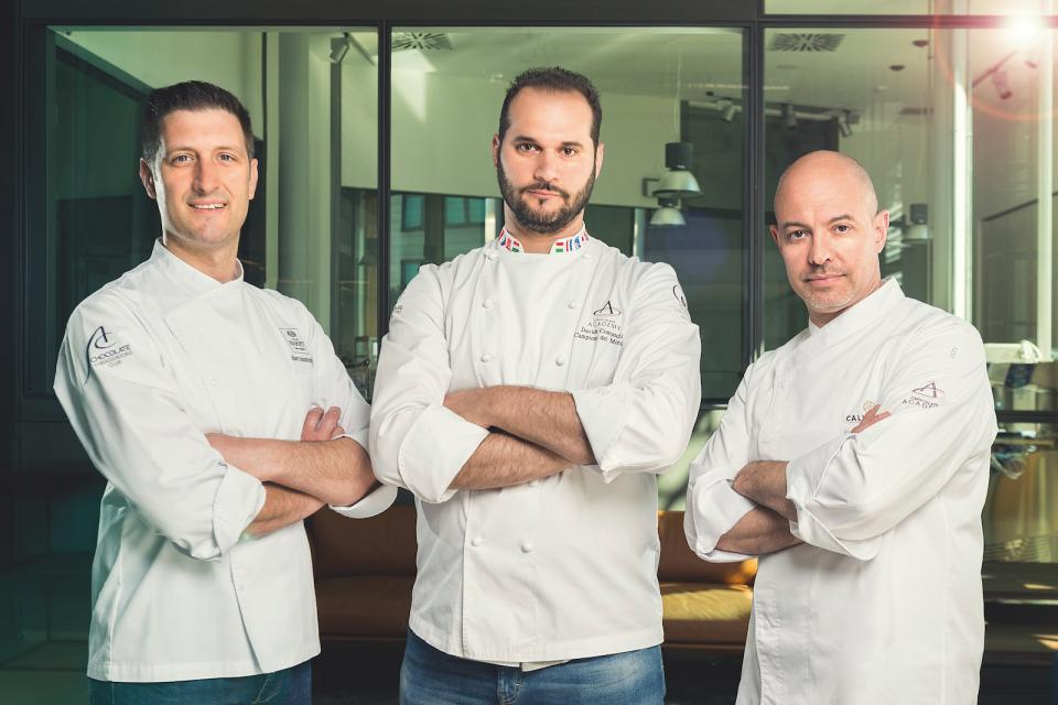 Davide Comaschi and his team