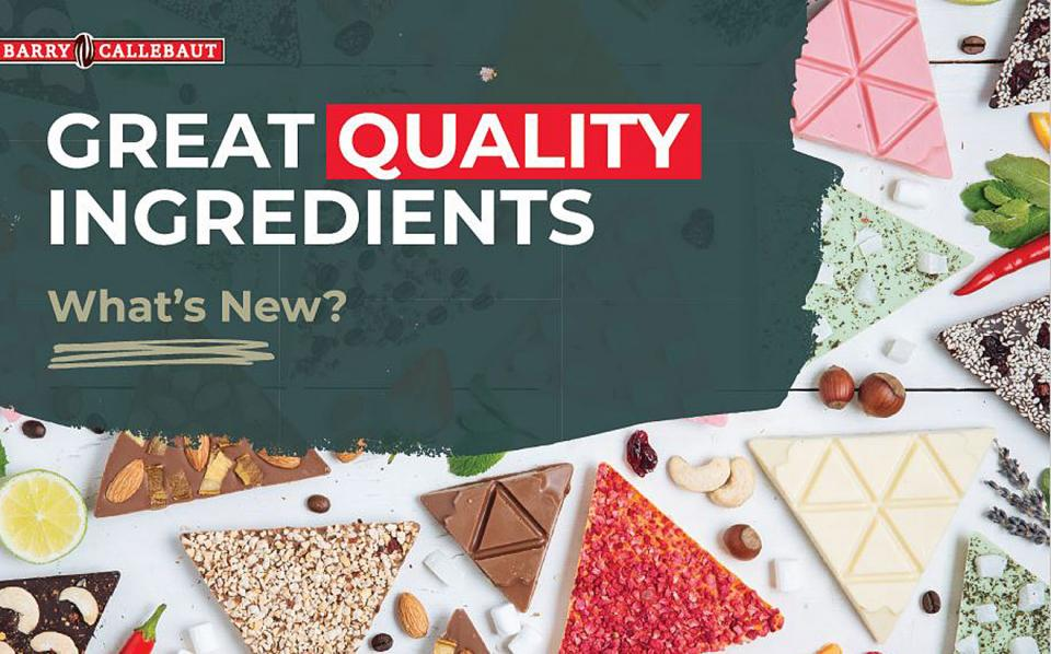 Great quality ingredients What's new catalog