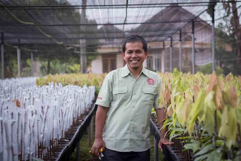 Sarono, Nursery and Farm Management Supervisor