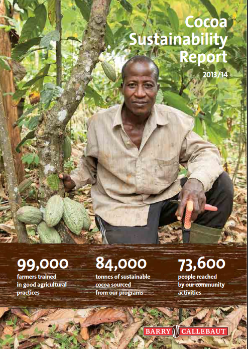 Barry Callebaut Cocoa Sustainability Report 2013/14