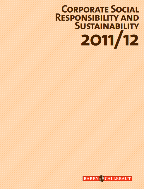 Barry Callebaut Corporate Social Responsibility Report 2011/12