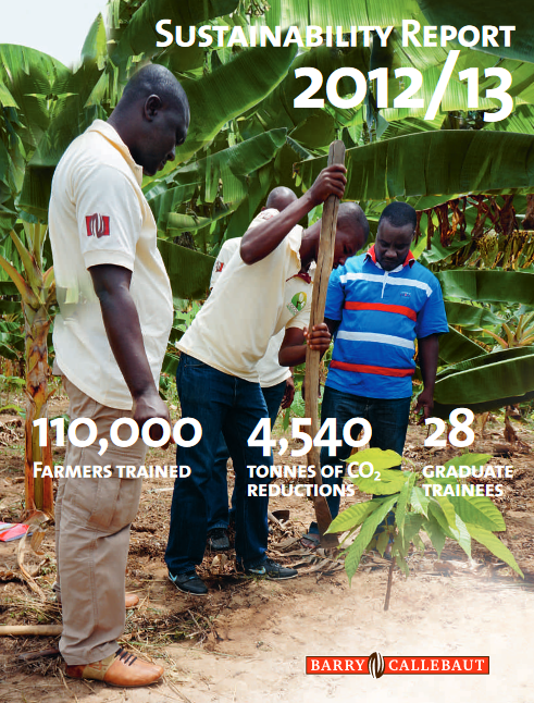 Barry Callebaut Sustainability Report 2012/13