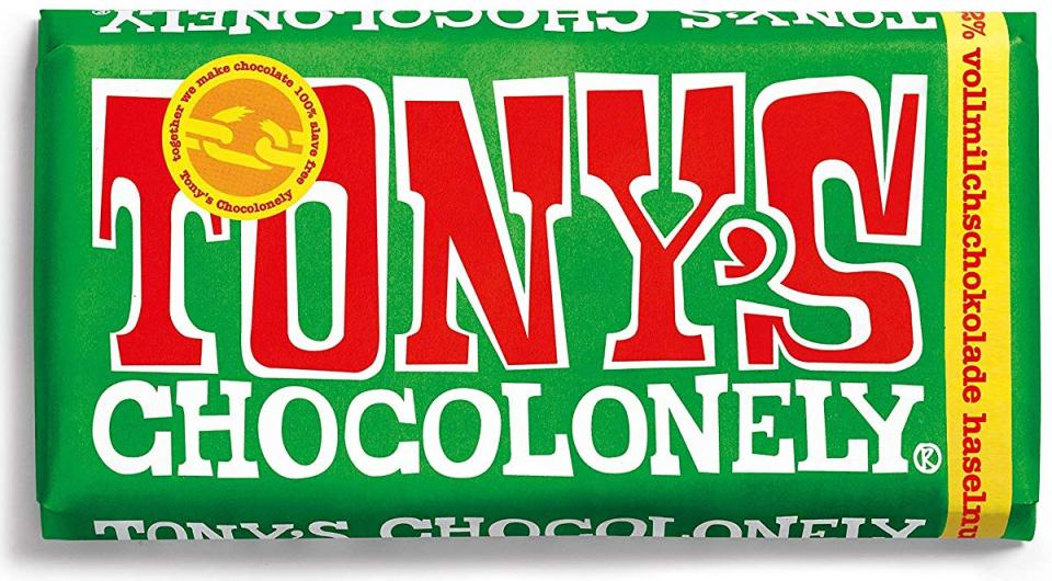 Tony's Chocolonely chocolate tablet