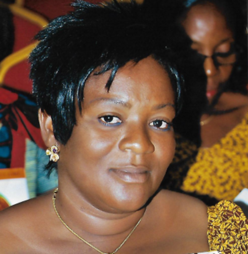 Marie Tanoh, President of Boukabla cocoa cooperative, Côte d'Ivoire.