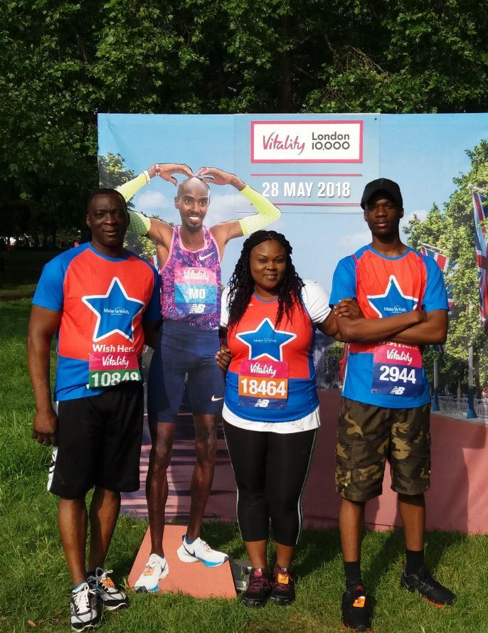 Jemi at the London Vitality Run