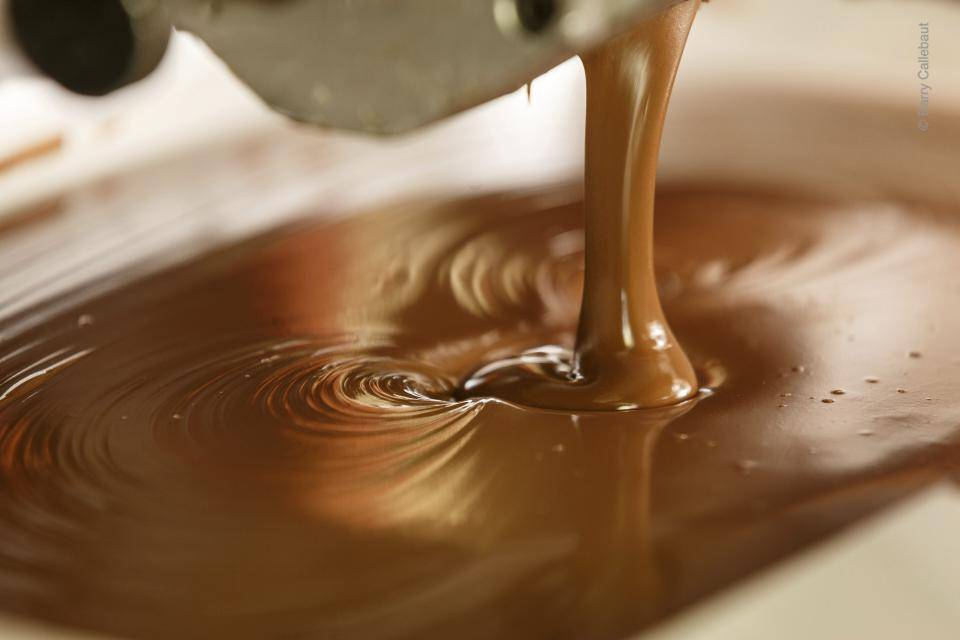 Barry Callebaut liquid chocolate couverture