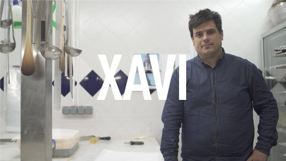 Xavi, project manager at escribà