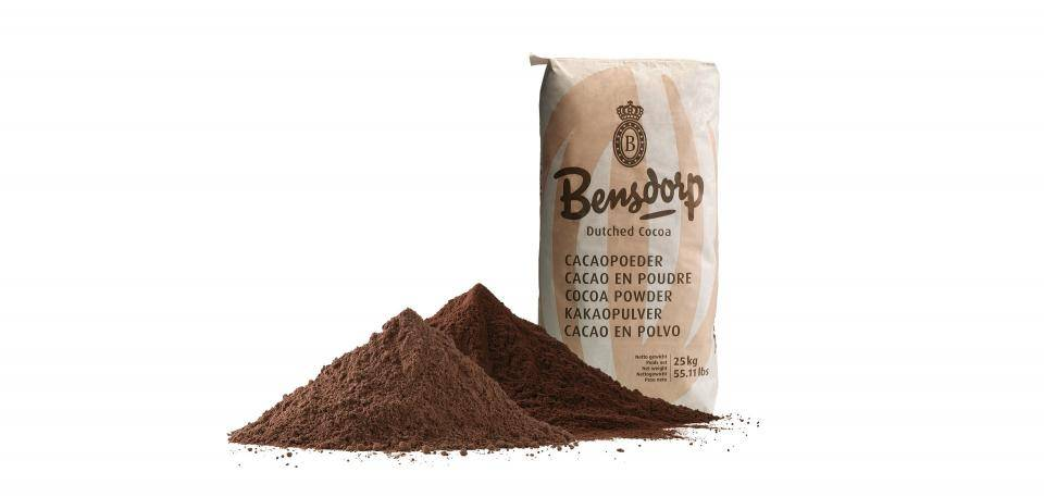 Bensdorp cocoa powder packaging