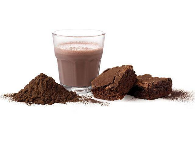 Cocoa powders with lecithin