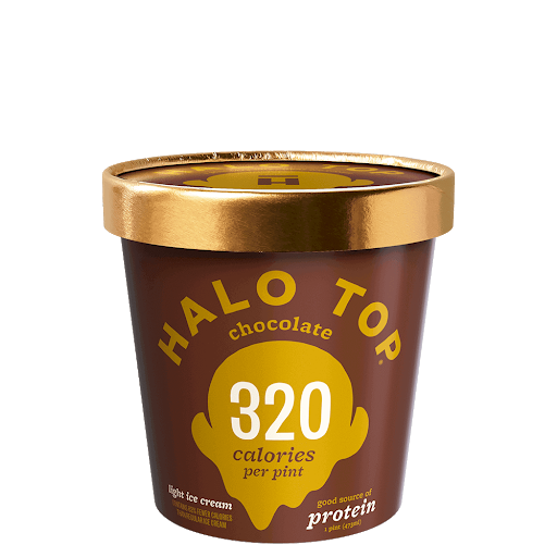 ice cream calorie conscious halo top
