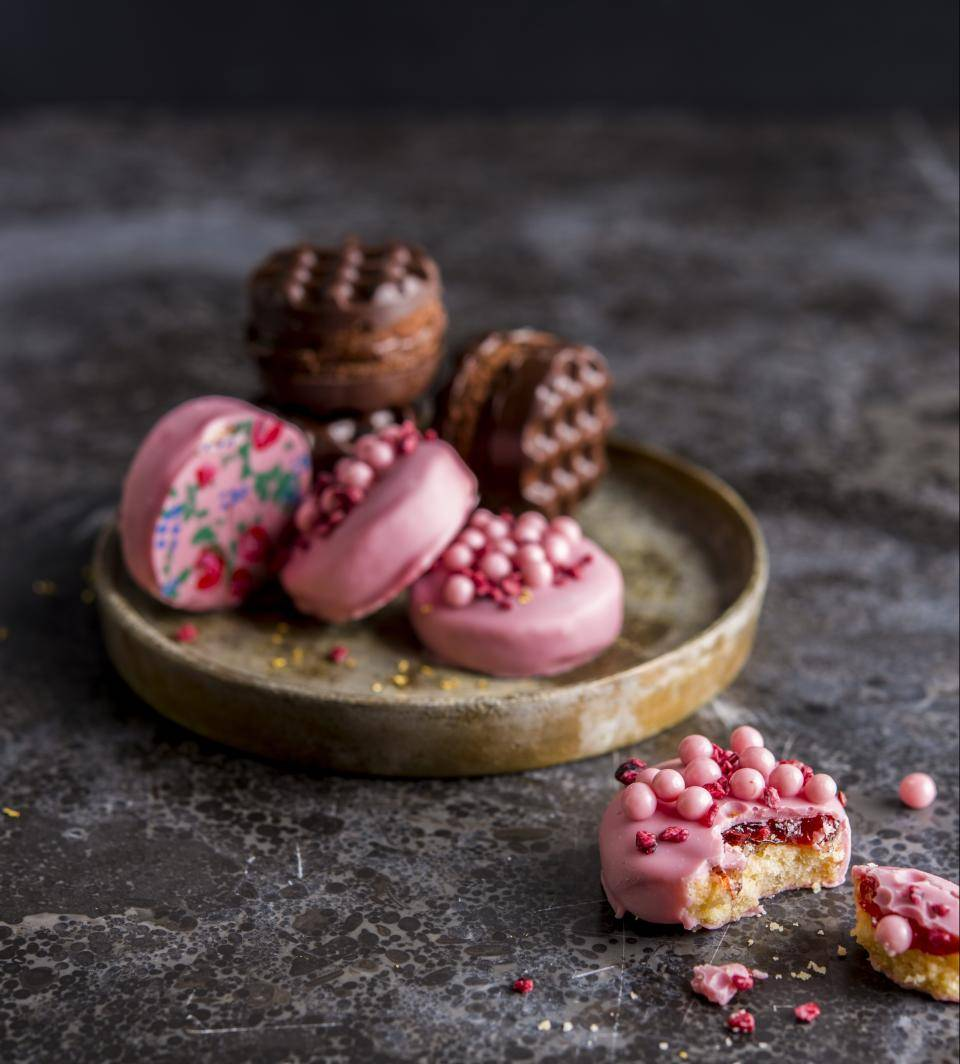 Barry Callebaut Pastry Creations Ruby