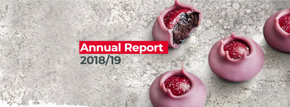 Barry Callebaut Online Annual Report for the fiscal year 2018/19