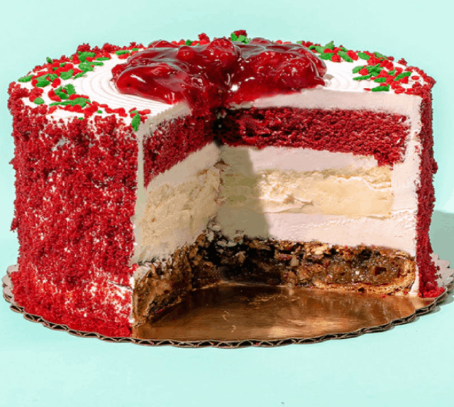 Christmas piecake