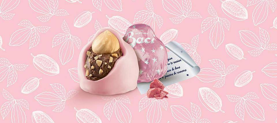 Baci Perugina limited edition with ruby cocoa beans