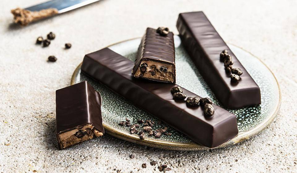 Vegan chocolate snack bars