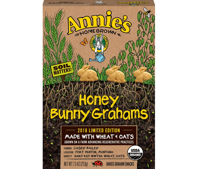 Annie's Honey Grahams packaging