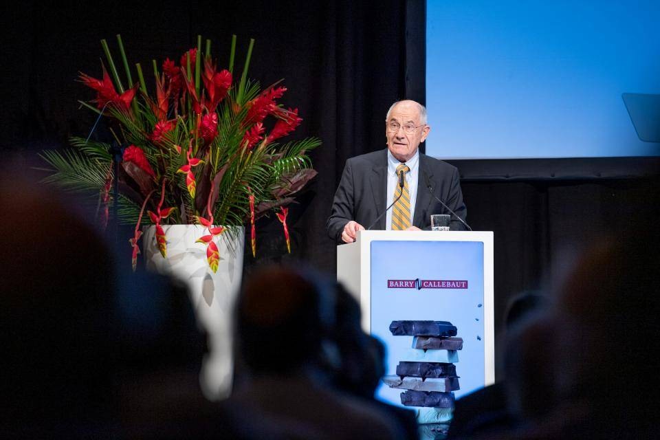 Annual General Meeting 2018 of Barry Callebaut AG, Jakob Baer