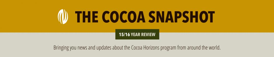 The cocoa snapshot