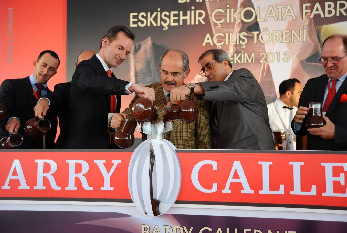 Dr. Andreas Jacobs, Chairman Barry Callebaut AG, Opening Ceremony Turkey Factory in 2013