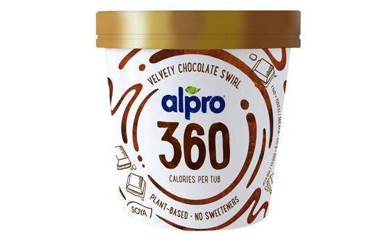 Alpro 360 calories plant-based ice cream