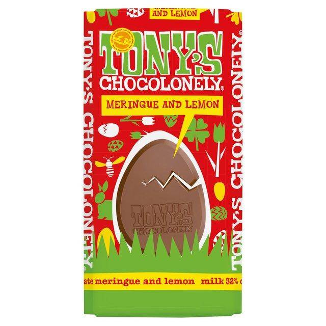 Easter chocolate bar with Easter egg shaped mould