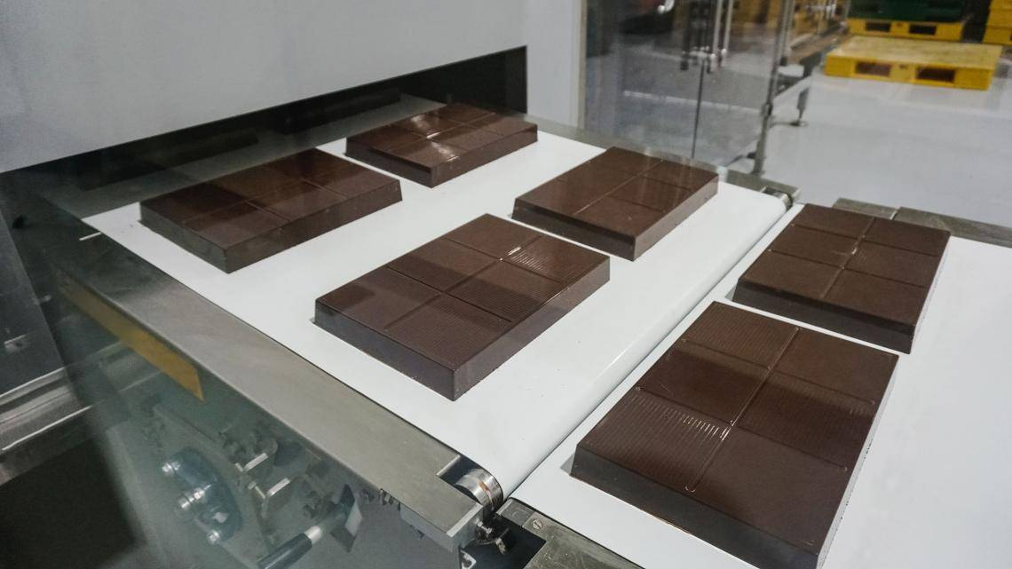 Chocolate blocs - Barry Callebaut Singapore's Fourth Line