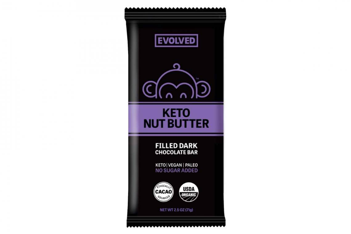 keto nut butter bar packaging