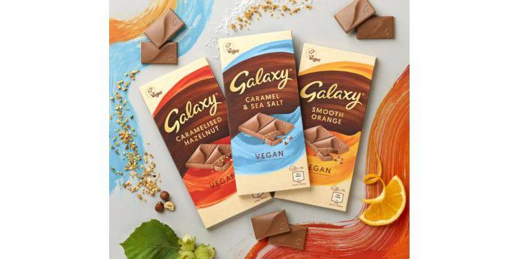 Galaxy (UK) chocolate bars are vegan