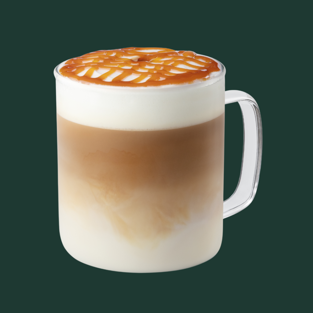 Starbucks Caramelised Almond Macchiato