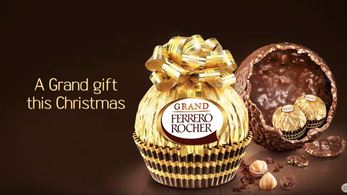Grand ferrero rocher video