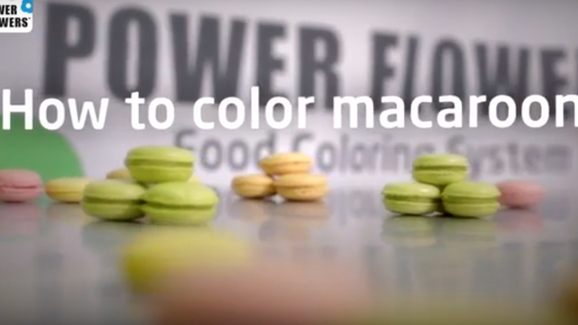 Make colorful macarons with chef Martin Diez