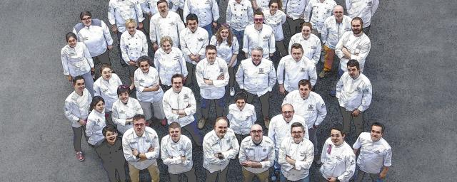 50 chefs from around the world