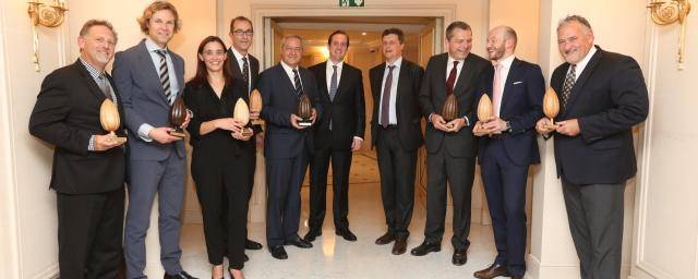Barry Callebaut Value Awards 2017 group picture