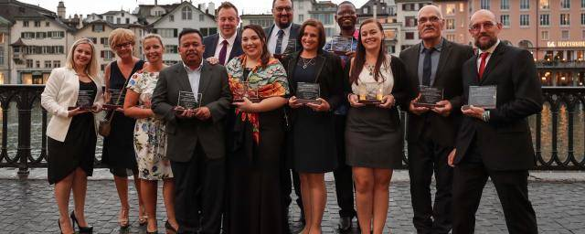 Barry Callebaut Chairman's Award 2017 group picture