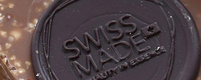 Swiss made chocolate